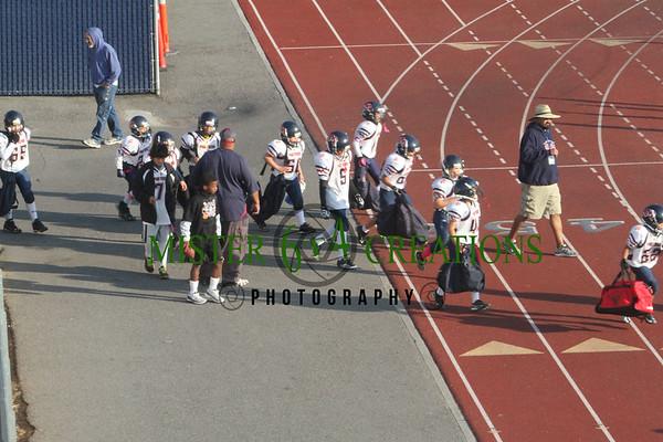 1st Round Playoffs Peewee Memorial 41 vs Kerman 12 - October 27, 2012