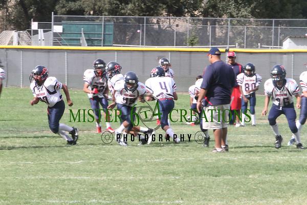 JRS vs Yosemite Badgers 38 - 0 ~September 8, 2012