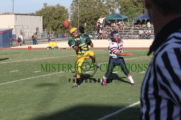 JRs vs Kingsburg 30-12 ~ October 6, 2012