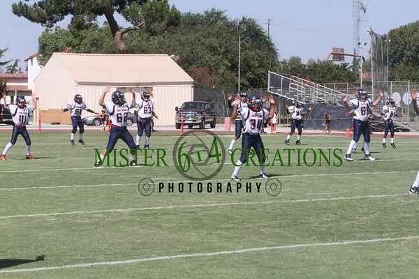 JRs vs Mendota Cobras 57-18 ~ Aug. 25, 2012