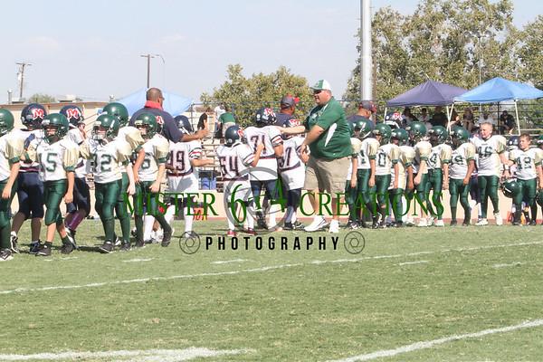 PW vs Madera Ranchos 28-0 ~ September 29, 2012