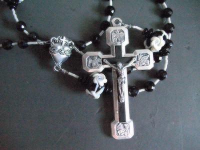 memorial rosary for a friend
