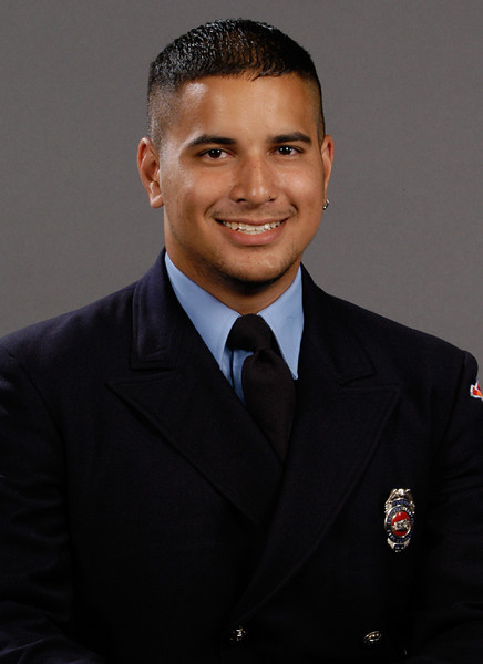 Firefighter Kevin Apuzzio
