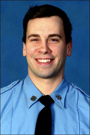 Firefighter Joseph Graffagnino