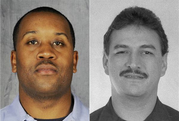 Chicago Firefighter/EMT Cory Ankum from Truck 34 and Firefighter Edward Stringer from Engine 63