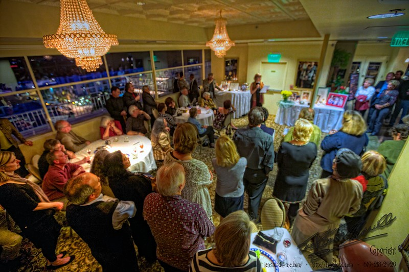 Inside the Craig Noel Memorial Party