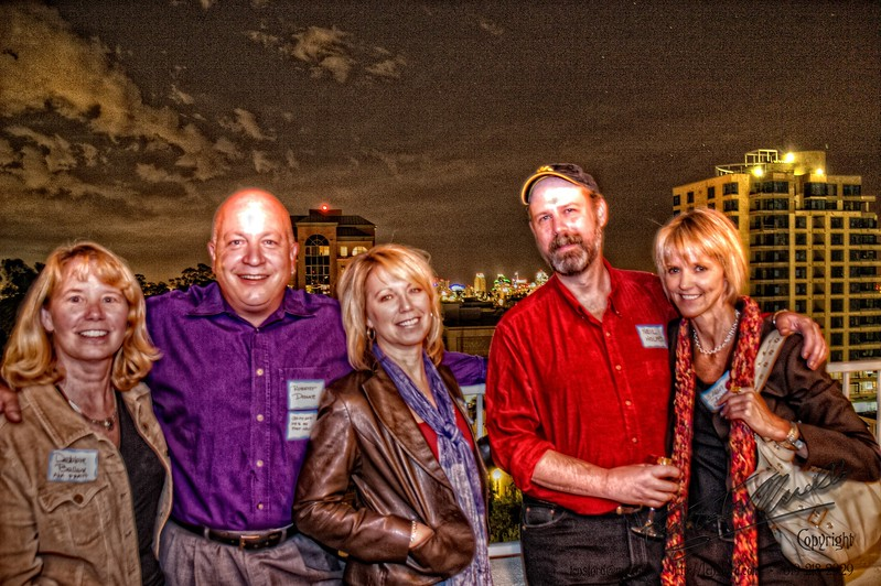 San Diego Gathers at Craig Noel's Unbirthday