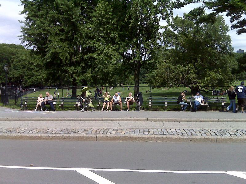 Park Bench Site for Allen J. Beeber