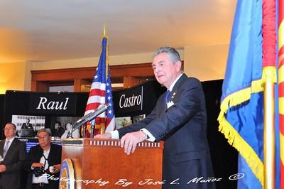 Enrique Melendez Consul of the Republic of El Salvador