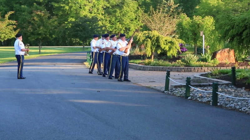 Rifle Salute and Taps