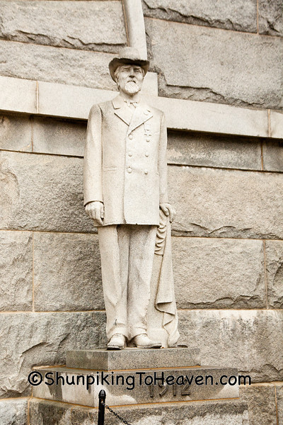Statue of Civil War Officer, Camp Randall Memorial Arch, Madison, Wisconsin