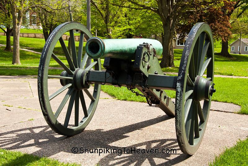 """""""The Napoleon"""" Civil War Cannon, Galena, Illinois"""