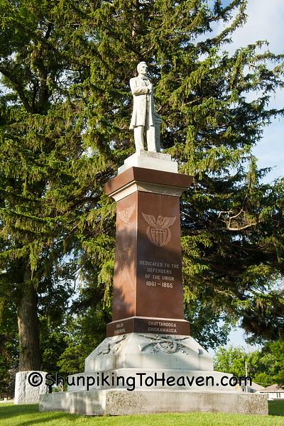 Civil War Monument, Clear Lake, Iowa