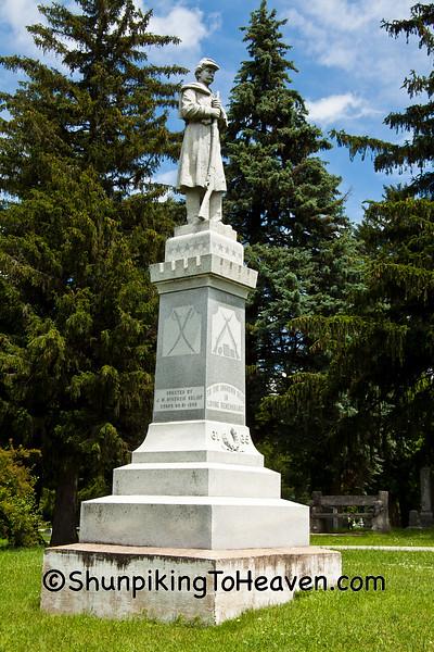 Civil War Memorial, Hampton, Iowa