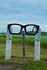 Buddy Holly Glasses at Crash Site Entrance, Cerro Gordo County, Iowa