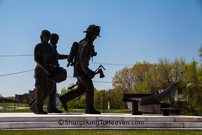 First Responders & 9/11 Memorial, Rockford, Illinois