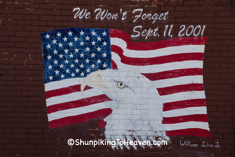 9/11 Memorial Mural, Lima, Ohio