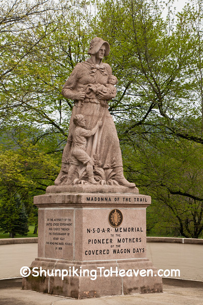 Madonna of the Trail Monument, Ohio County, West Virginia