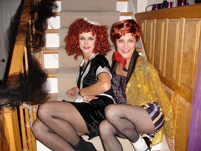 Magenta & Columbia at JAC's 2006 Halloween Party.