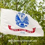 U.S. Army Flag, Camp Butler National Cemetery, Sanamon County, Illinois