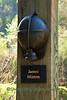 Miner's Helmet, Hurricane Creek Miner Memorial, Leslie County, Kentucky