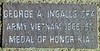 George Ingalls is a prime example. Not all of the veterans commemmorated have died.