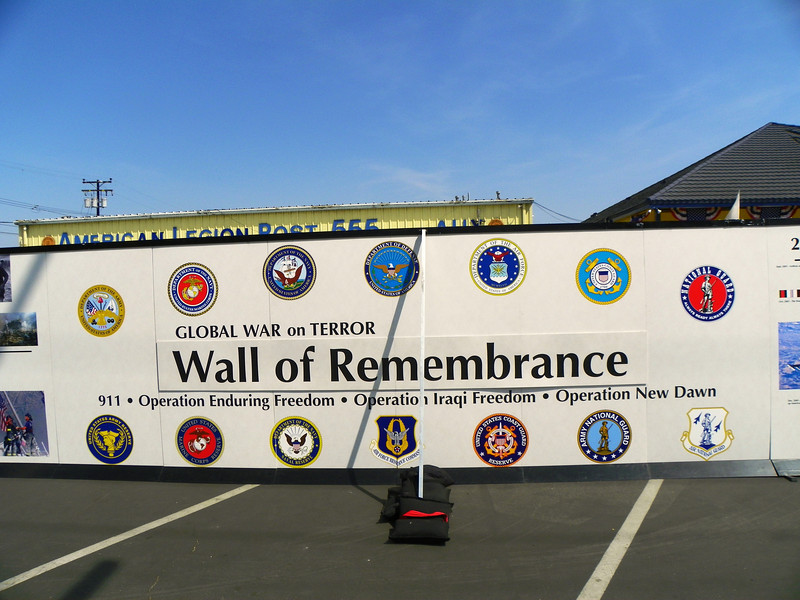 Global War on Terror Wall of Remembrance 1
