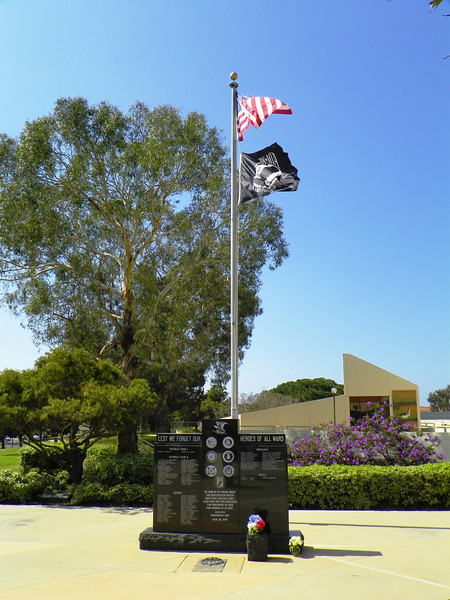 HB Civic Center War Memorial for casualties - 1
