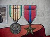 Vietnam Service and Bronze Star medals