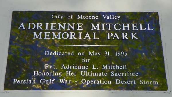 Moreno Valley - Adrienne Mitchell Park