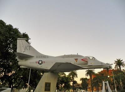 Santa Ana, Military Memorial Plaza