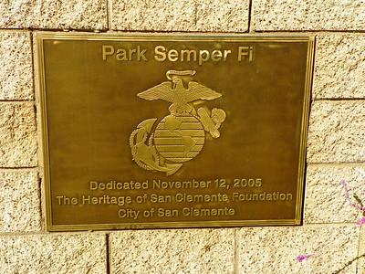 San Clemente, Park Semper Fi