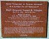 Ysmael Villegas Memorial Plaque