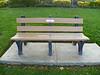 Lt. Col. Shea memorial bench