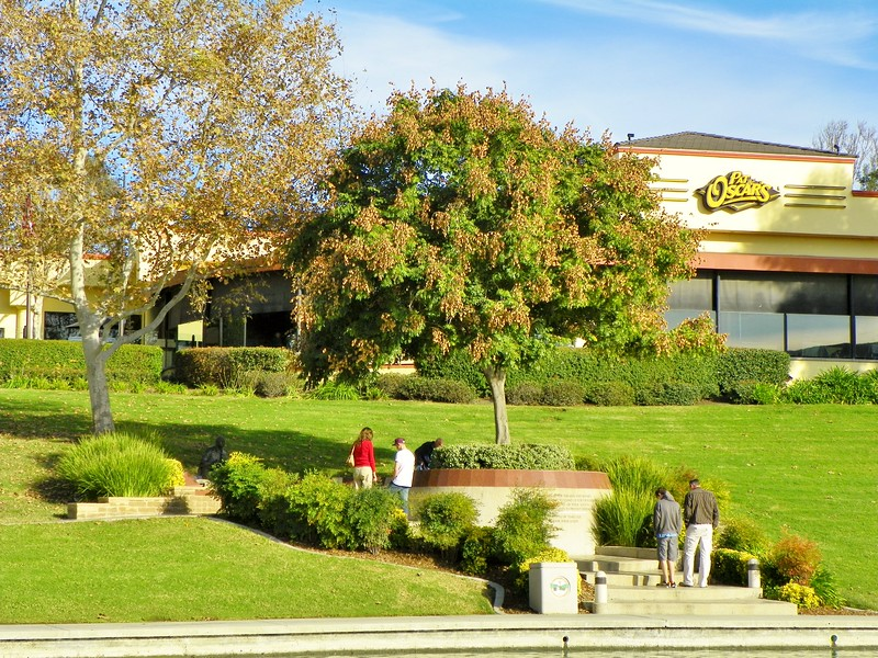 Temecula's Veterans Memorial, dedicated November 11, 2004, is located in a popular park and has a steady flow of visitors