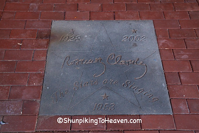 Sidewalk Star for Rosemary Clooney, Maysville, Kentucky
