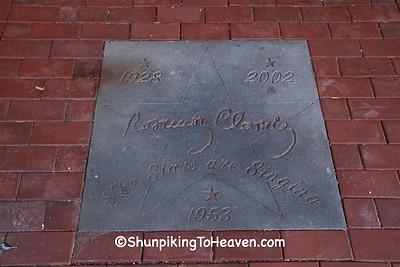 Sidewalk Star for Rosemary Clooney, Maysville, Kentucky