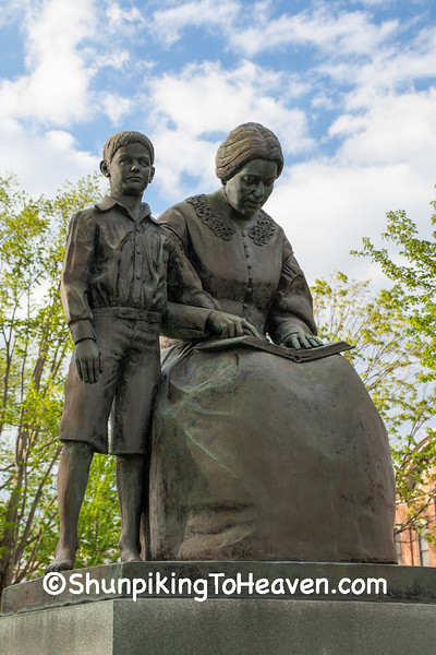 Thomas Edison and His Mother, Milan, Ohio