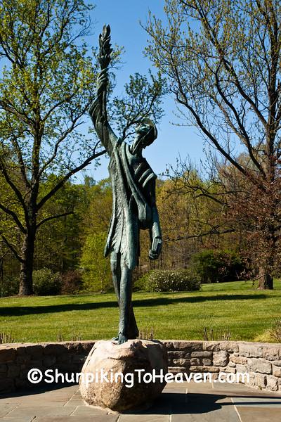 Johnny Appleseed Sculpture, Cincinnati, Ohio