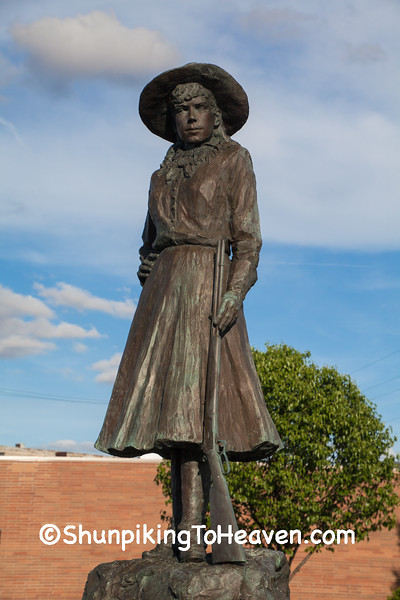 Annie Oakley Statue, Darke County, Ohio
