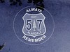"Remembrance of the Esperanza Fire<br /> 57 is their Engine Number. Alandale is their station.<br /> Read this:<br /> <a href=""http://www.wlfalwaysremember.org/incident-lists/56-esperanza-fire-entrapment.html"">http://www.wlfalwaysremember.org/incident-lists/56-esperanza-fire-entrapment.html</a>"
