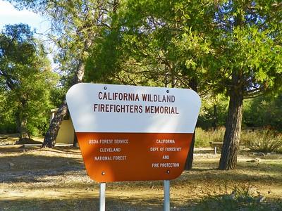 Calif. Wildland Firefighters