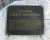 Cypress Police Memorial