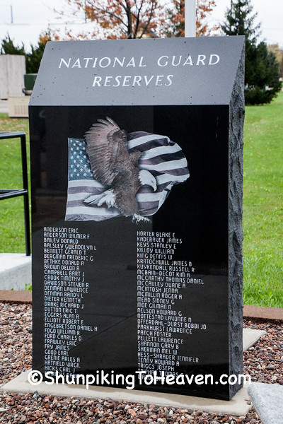 Richland County Veterans Memorial, Richland Center, Wisconsin