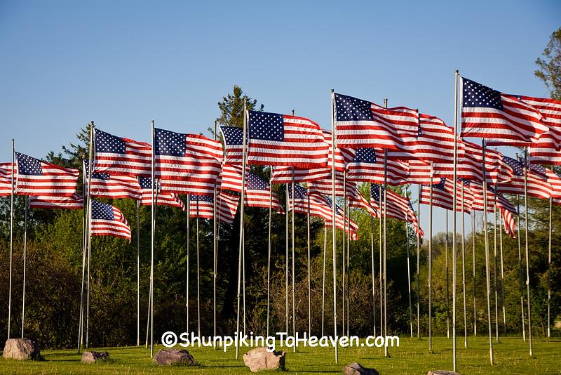 American Legion Veterans Memorial Flag Park, Richland Center, Wisconsin