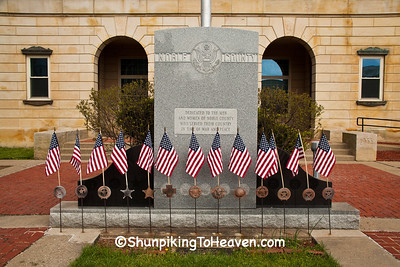 Veterans Memorial, Caldwel, Noble County, Ohio
