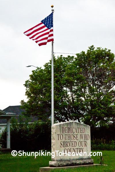 Veterans Memorial, Colesburg, Delaware County, Iowa