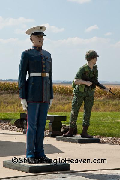 Veterans Memorial, Monona, Iowa