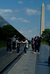Vietnam Wall & Washington Memorial