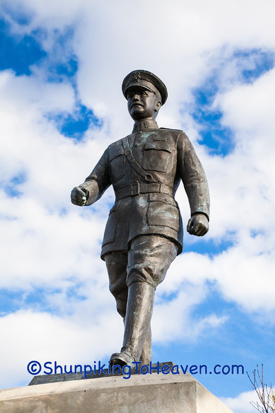 Statue of John J. Pershing, Trempealeau County, Wisconsin